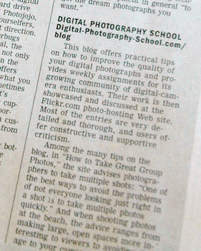 Digital Photography School - As Featured in the Wall Street Journal